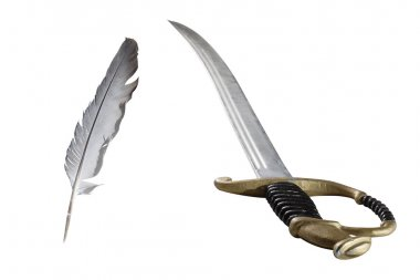 Feather and rapier