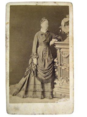 Vintage photo of women