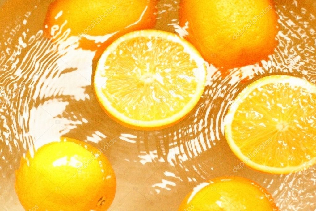 Wet fruit