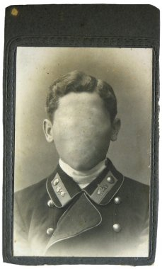 Vintage photo man