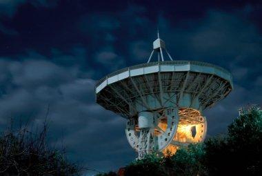 A radio telescope in Crimea