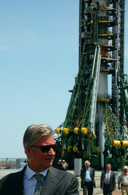 Crown Prince Philippe At Launch Pad