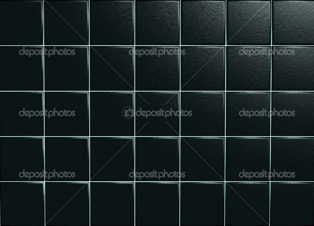 Black Ceramic Tiles U2014 Stock Photo #1042864