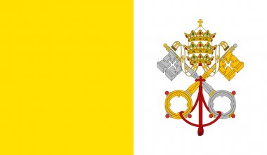 Vatican City (Holy See) Flag