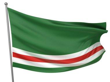 Chechen Republic of Ichkeria Flag
