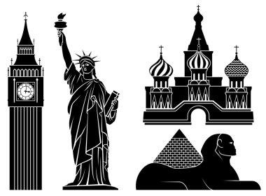 Vector landmarks.