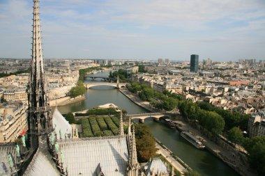 Cityscape of Paris and Seine