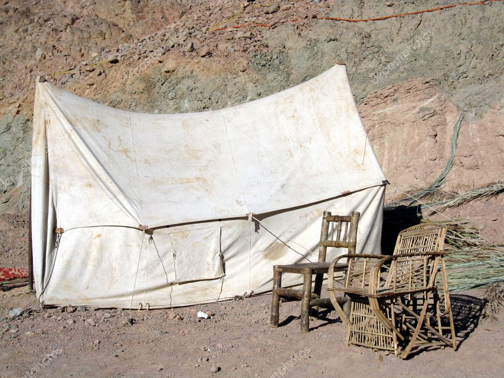 Old-fashioned Tent And Chairs u2014 Stock Photo & Old-fashioned Tent And Chairs u2014 Stock Photo © alexalexl #1194848