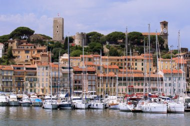 Cannes, Fortress and Harbor