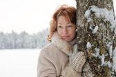 zimy portrét