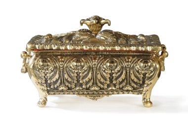 Luxury bronze small box