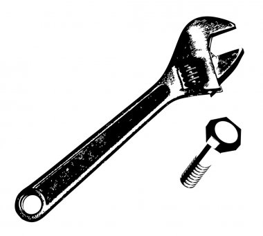Wrench and bolt