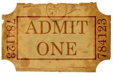 Ticket admit one