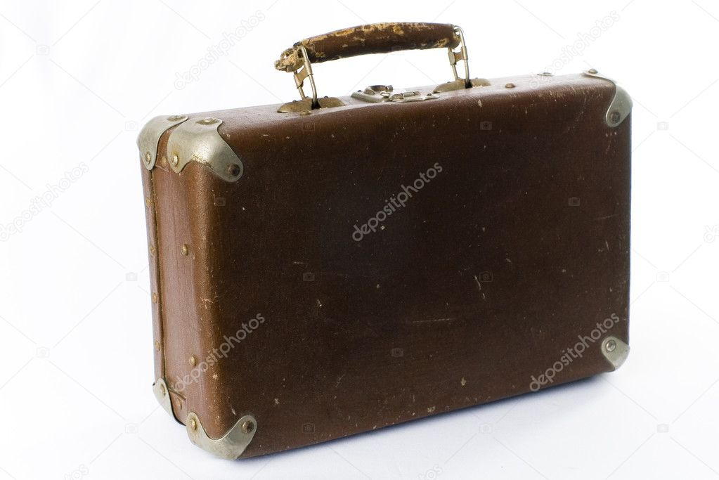 valise brune de voyage — photo #1634268