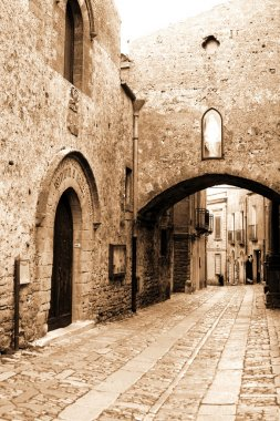 Old Italy ,Sicily, Eriche city