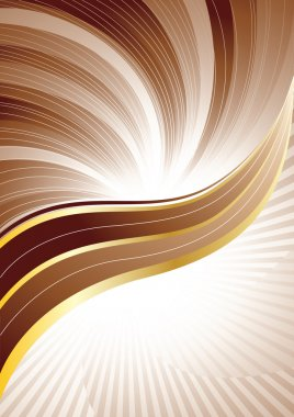 Vector brown background