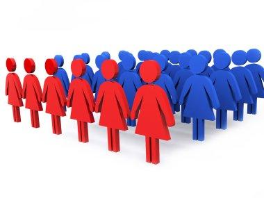 Group of leaders of women