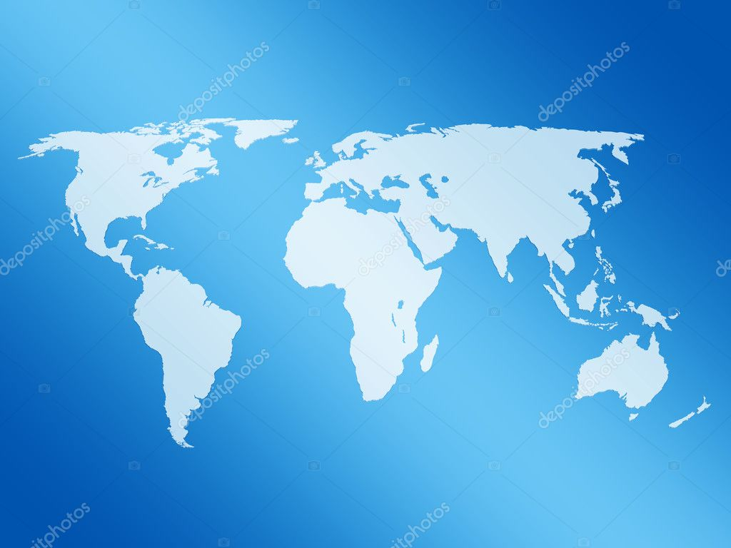 World map 3d — Stock Photo © julydfg #1802992