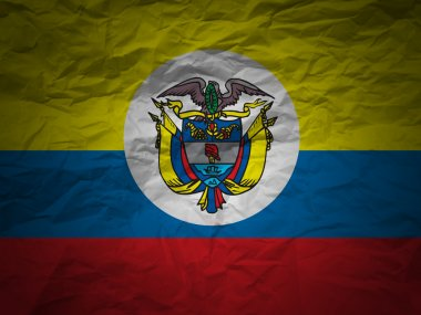Grunge background Colombia