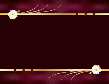 Purple and gold elegant background 1