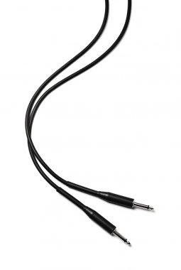 Black audio cable