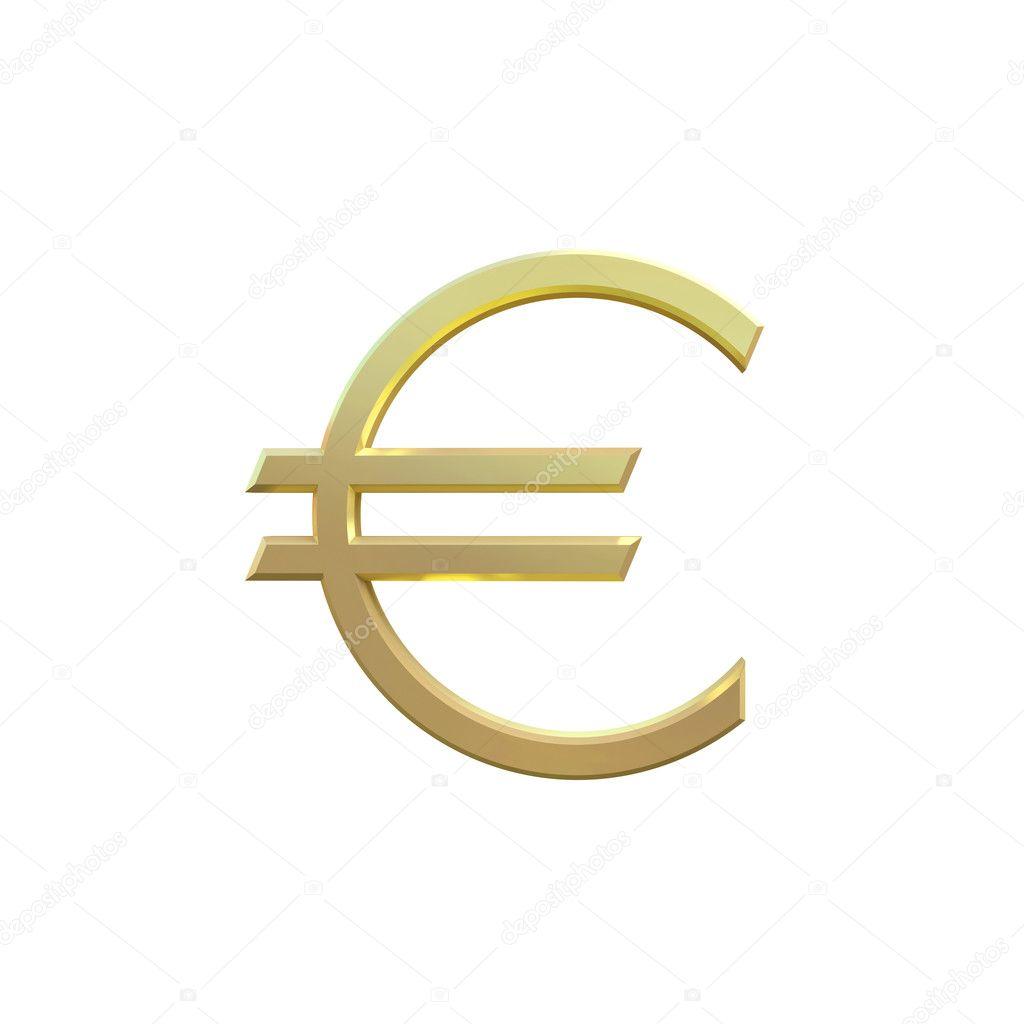 Symbol Euro Zoty Na Biaym Tle Zdjcie Stockowe Arthey 2208074