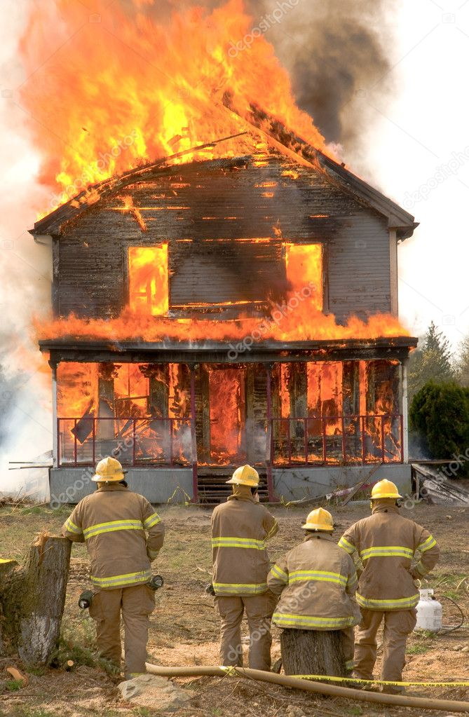 Image result for burning house picture