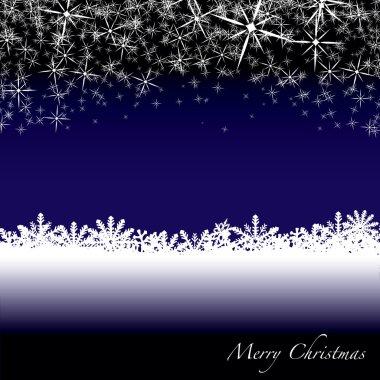 Christmas snow drift