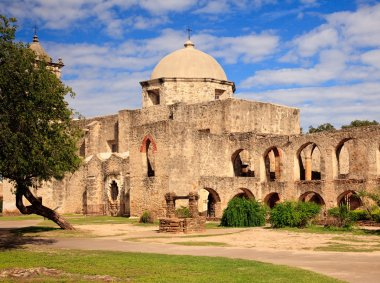 San Juan Mission in Texas