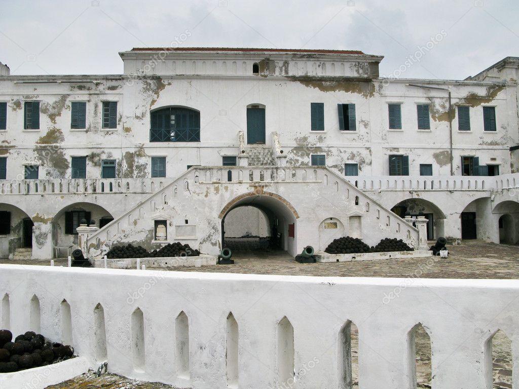 Elmina Castle In Ghana Entrance