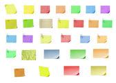 Fotografia carta postit vuoto isolato su con bac