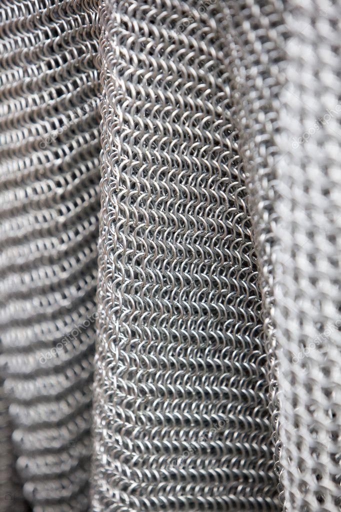 Fondo de armadura de cota de malla — Fotos de Stock © Immfocus #1208905
