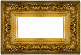 Fotografia cornice dorata spessa