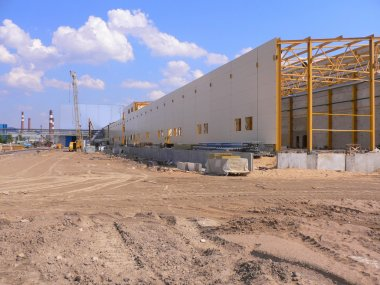 Factory building area
