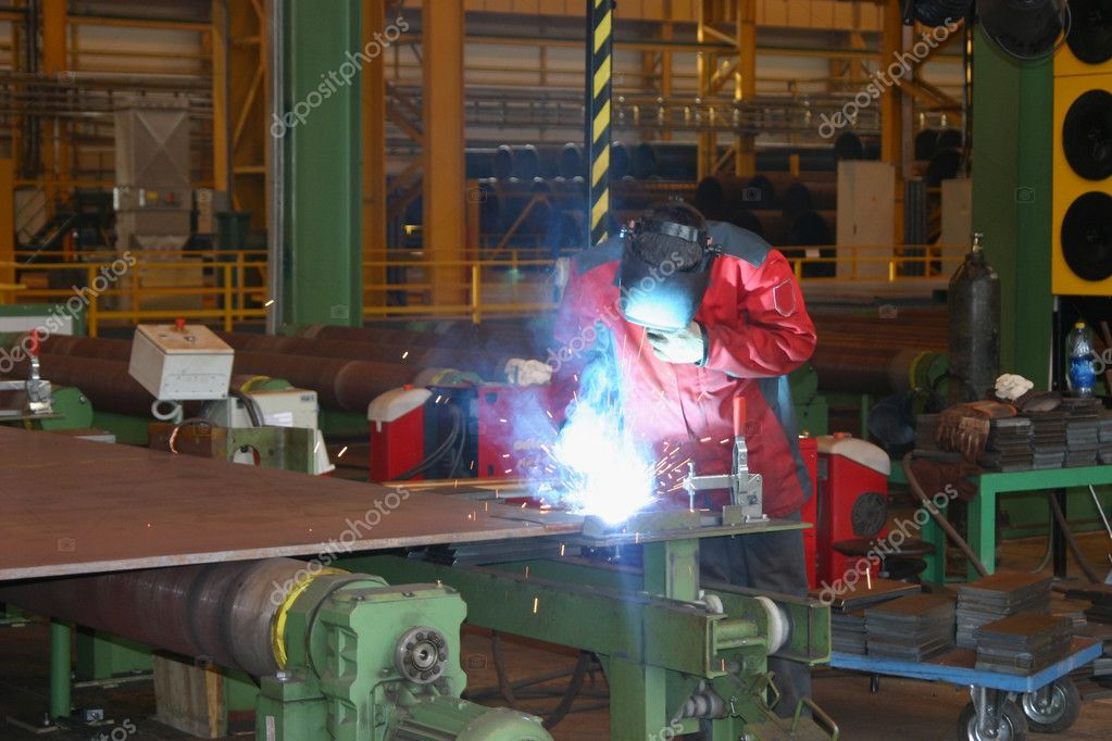 Welding Operator Stock Photo C Antiksu 1044372