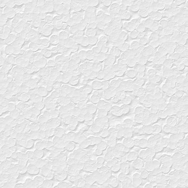 Seamless texture of white polystyrene surface in closeup stock vector