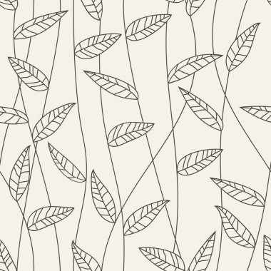 Floral seamless pattern. Vector clip art vector