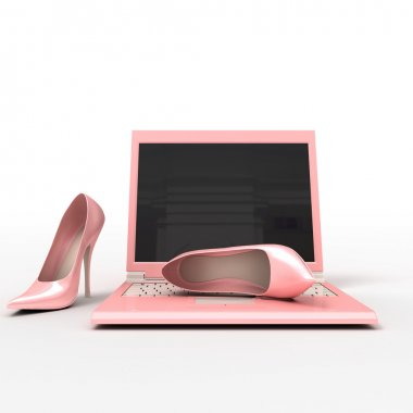 Notebook and stiletto