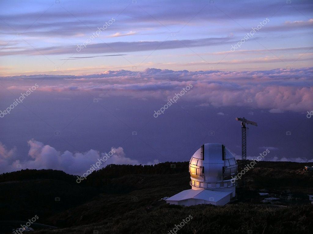 Optik teleskop u stok foto dmylakl