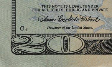 Twenty Dollar.