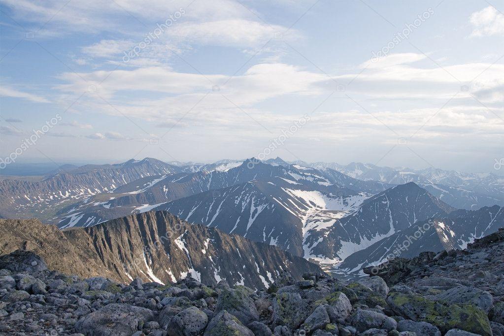 Ural mountains — Stock Photo © Goodday #2403042