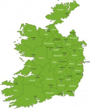 Republic of Ireland map