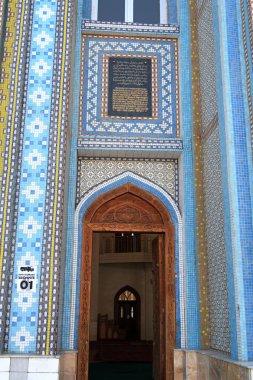 Open door in mosque