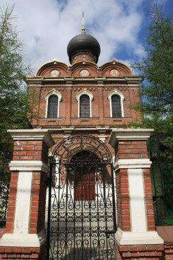 Gate in church