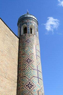 The minaret in Tashkent
