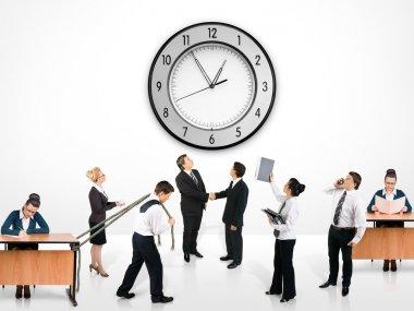 Business team stock vector