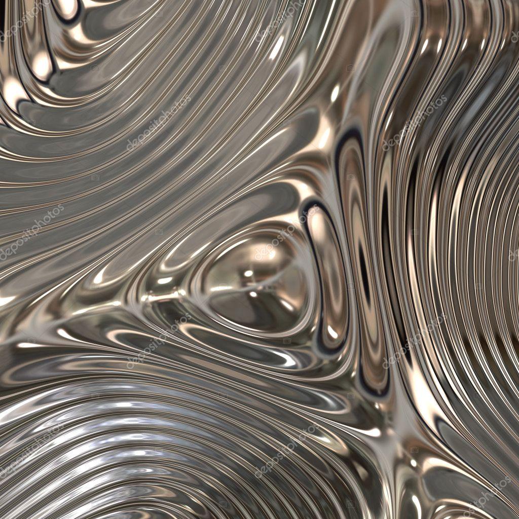 Chrome metal surface