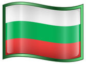 Bulgaria Flag Icon.