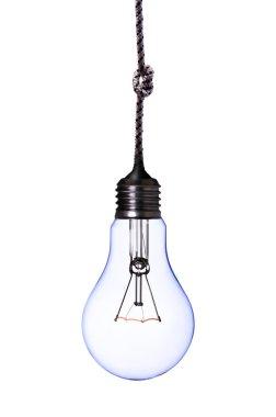 Blue lamp bulb