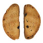 Zwieback Scheibe süßes Brot